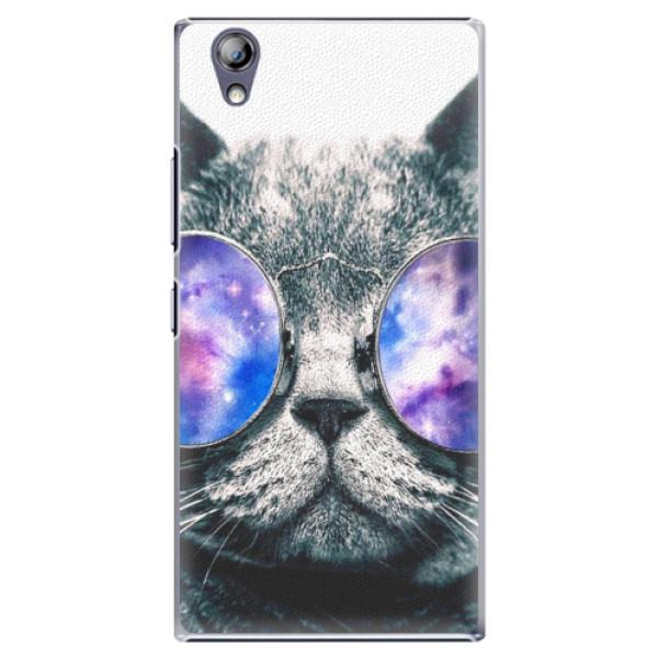 Plastové pouzdro iSaprio - Galaxy Cat - Lenovo P70