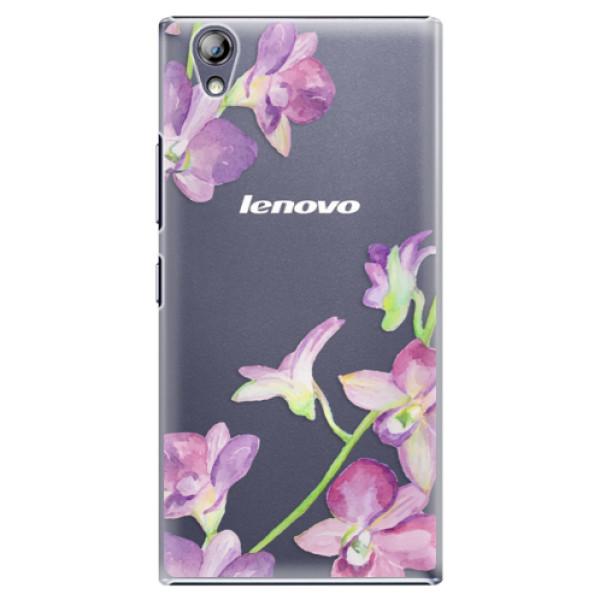 Plastové pouzdro iSaprio - Purple Orchid - Lenovo P70