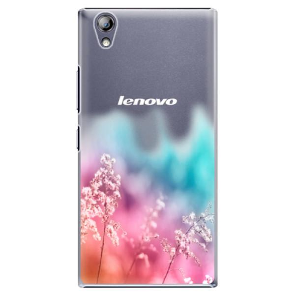 Plastové pouzdro iSaprio - Rainbow Grass - Lenovo P70