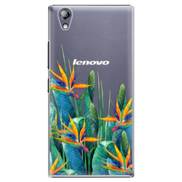 Plastové pouzdro iSaprio - Exotic Flowers - Lenovo P70