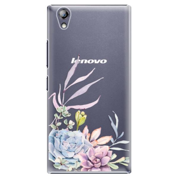 Plastové pouzdro iSaprio - Succulent 01 - Lenovo P70