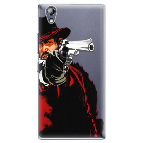 Plastové pouzdro iSaprio - Red Sheriff - Lenovo P70