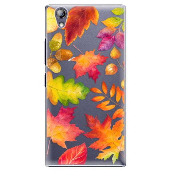 Plastové pouzdro iSaprio - Autumn Leaves 01 - Lenovo P70