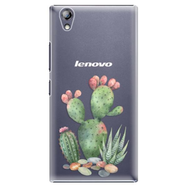Plastové pouzdro iSaprio - Cacti 01 - Lenovo P70