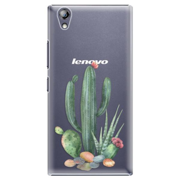 Plastové pouzdro iSaprio - Cacti 02 - Lenovo P70