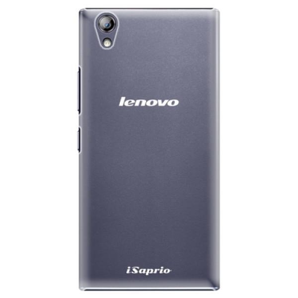 Plastové pouzdro iSaprio - 4Pure - mléčný bez potisku - Lenovo P70