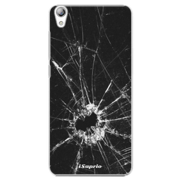 Plastové pouzdro iSaprio - Broken Glass 10 - Lenovo S850