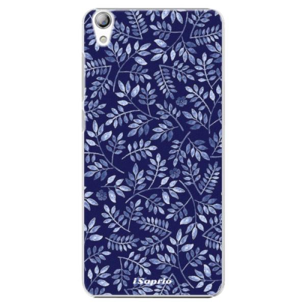 Plastové pouzdro iSaprio - Blue Leaves 05 - Lenovo S850