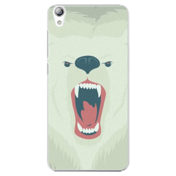 Plastové pouzdro iSaprio - Angry Bear - Lenovo S850