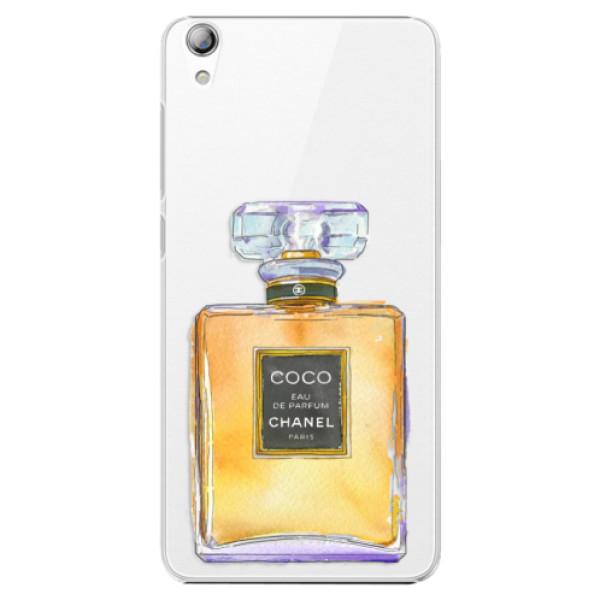 Plastové pouzdro iSaprio - Chanel Gold - Lenovo S850