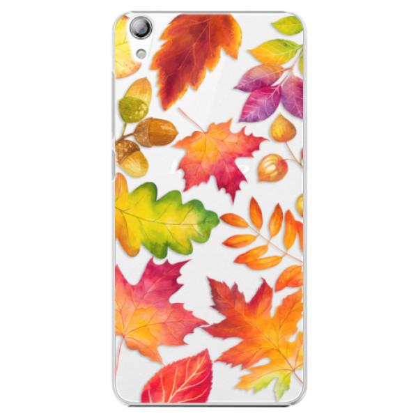 Plastové pouzdro iSaprio - Autumn Leaves 01 - Lenovo S850