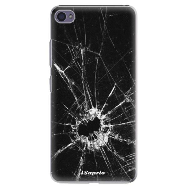 Plastové pouzdro iSaprio - Broken Glass 10 - Lenovo S90