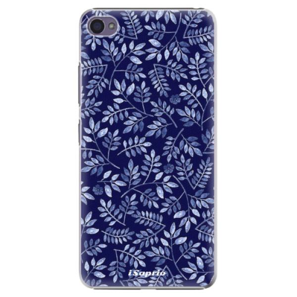 Plastové pouzdro iSaprio - Blue Leaves 05 - Lenovo S90