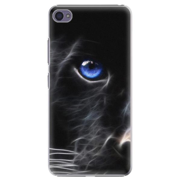 Plastové pouzdro iSaprio - Black Puma - Lenovo S90