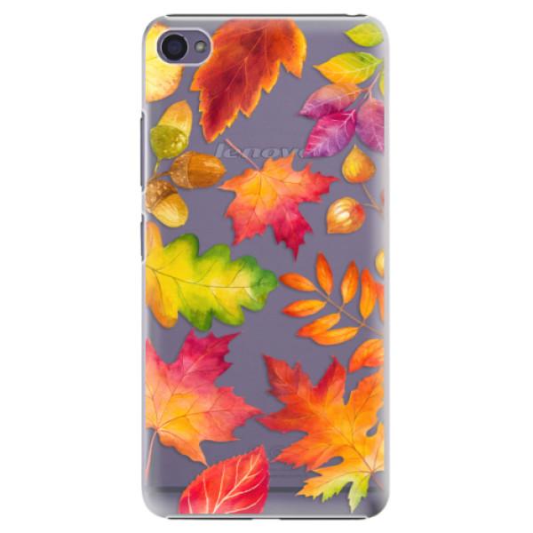 Plastové pouzdro iSaprio - Autumn Leaves 01 - Lenovo S90