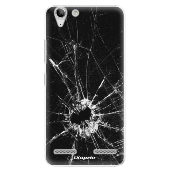 Plastové pouzdro iSaprio - Broken Glass 10 - Lenovo Vibe K5