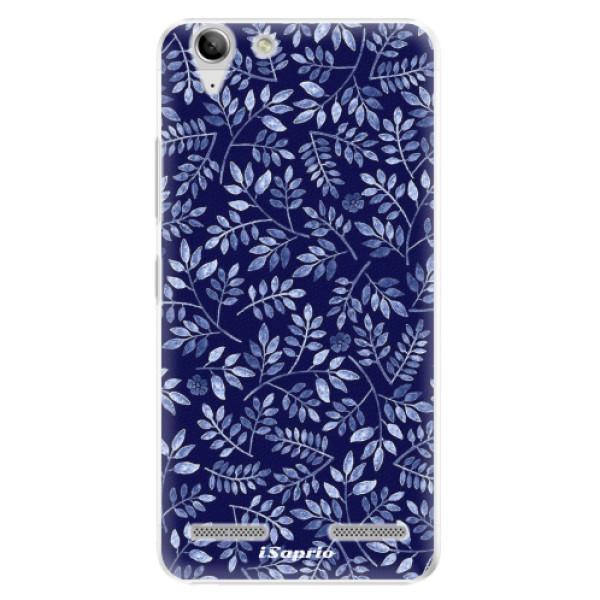 Plastové pouzdro iSaprio - Blue Leaves 05 - Lenovo Vibe K5