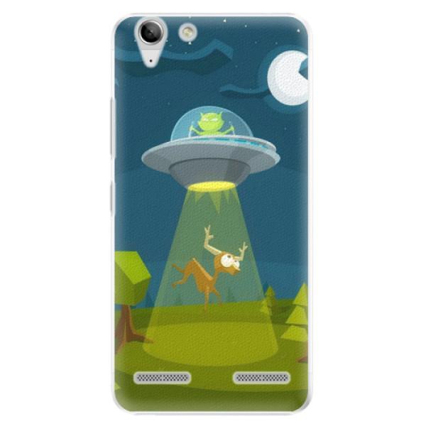 Plastové pouzdro iSaprio - Alien 01 - Lenovo Vibe K5