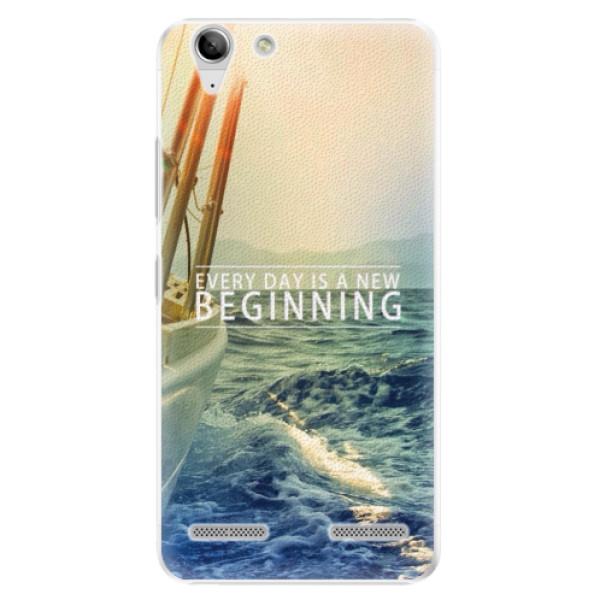 Plastové pouzdro iSaprio - Beginning - Lenovo Vibe K5