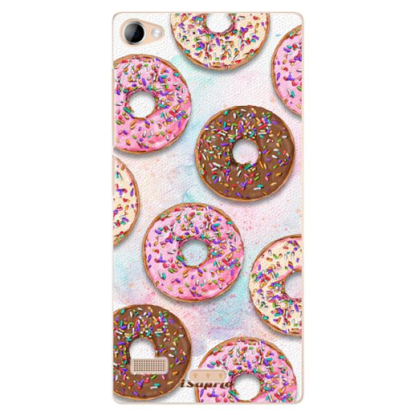 Plastové pouzdro iSaprio - Donuts 11 - Lenovo Vibe X2