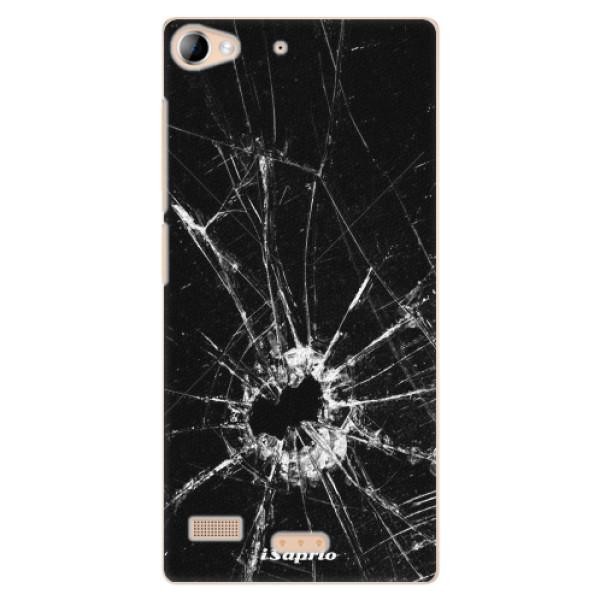 Plastové pouzdro iSaprio - Broken Glass 10 - Lenovo Vibe X2