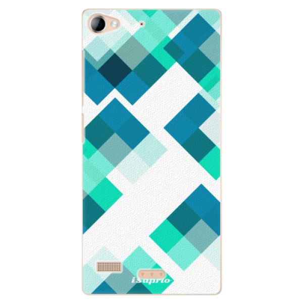 Plastové pouzdro iSaprio - Abstract Squares 11 - Lenovo Vibe X2