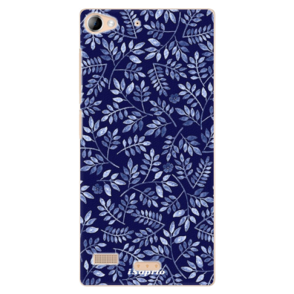Plastové pouzdro iSaprio - Blue Leaves 05 - Lenovo Vibe X2