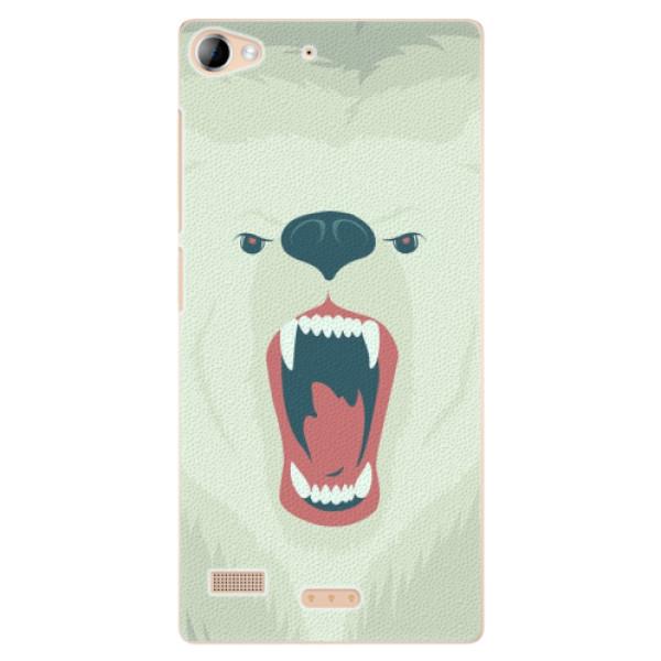 Plastové pouzdro iSaprio - Angry Bear - Lenovo Vibe X2
