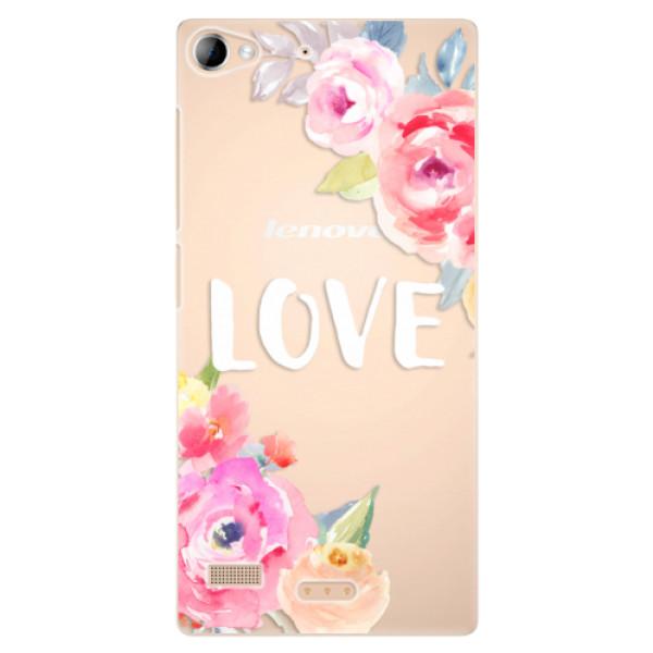 Plastové pouzdro iSaprio - Love - Lenovo Vibe X2