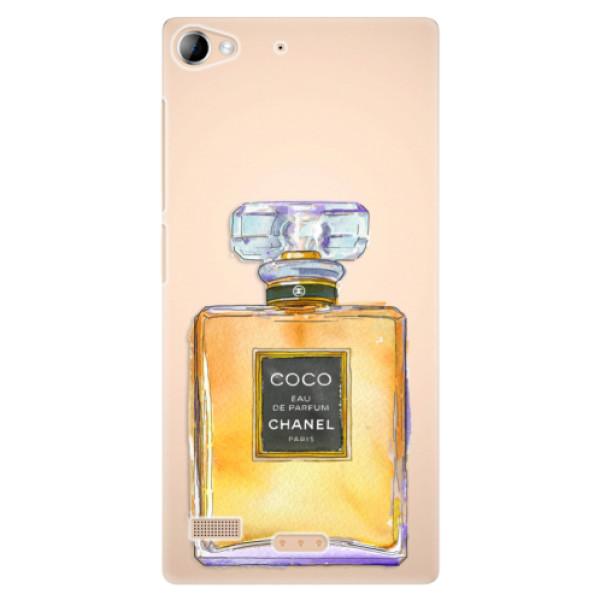 Plastové pouzdro iSaprio - Chanel Gold - Lenovo Vibe X2