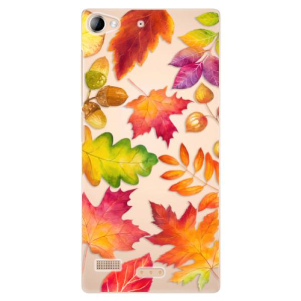 Plastové pouzdro iSaprio - Autumn Leaves 01 - Lenovo Vibe X2