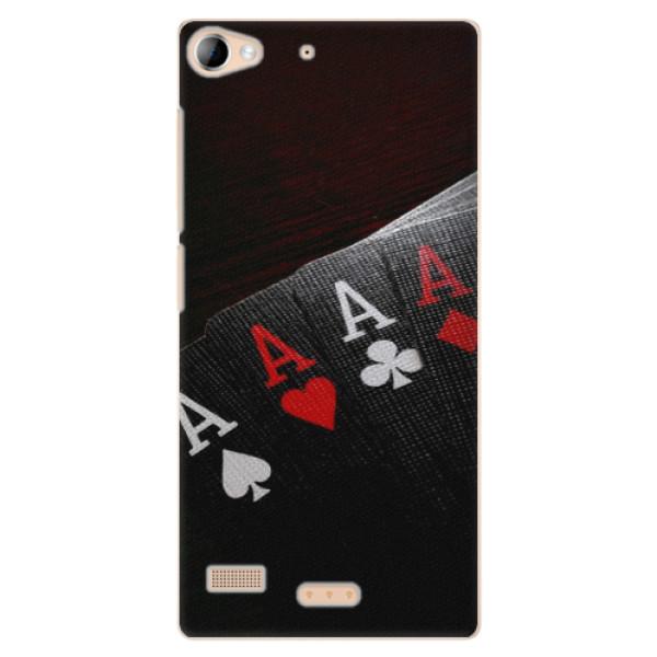 Plastové pouzdro iSaprio - Poker - Lenovo Vibe X2