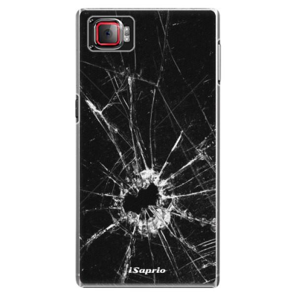 Plastové pouzdro iSaprio - Broken Glass 10 - Lenovo Z2 Pro