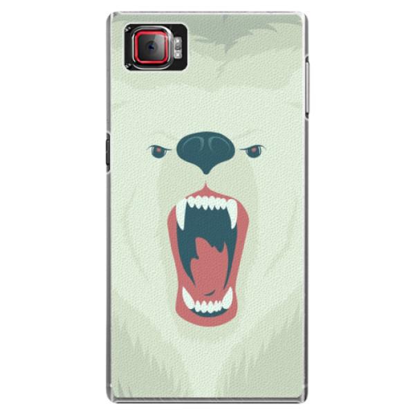 Plastové pouzdro iSaprio - Angry Bear - Lenovo Z2 Pro