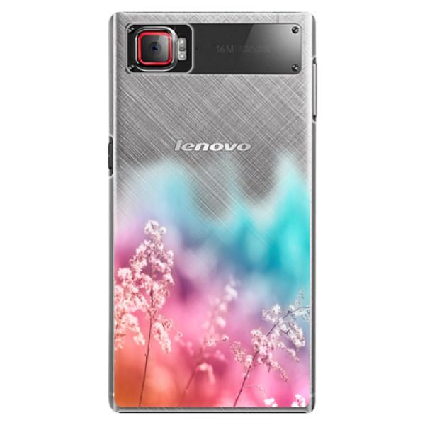 Plastové pouzdro iSaprio - Rainbow Grass - Lenovo Z2 Pro