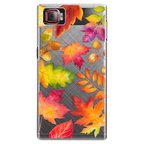 Plastové pouzdro iSaprio - Autumn Leaves 01 - Lenovo Z2 Pro