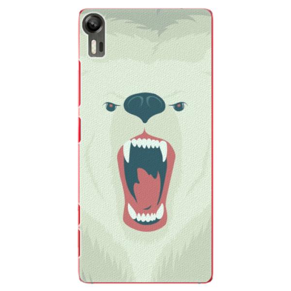 Plastové pouzdro iSaprio - Angry Bear - Lenovo Vibe Shot