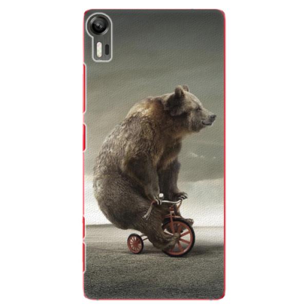 Plastové pouzdro iSaprio - Bear 01 - Lenovo Vibe Shot