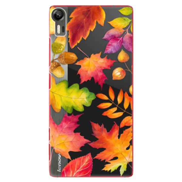 Plastové pouzdro iSaprio - Autumn Leaves 01 - Lenovo Vibe Shot