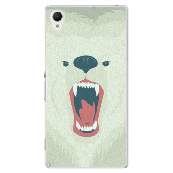 Plastové pouzdro iSaprio - Angry Bear - Sony Xperia Z1