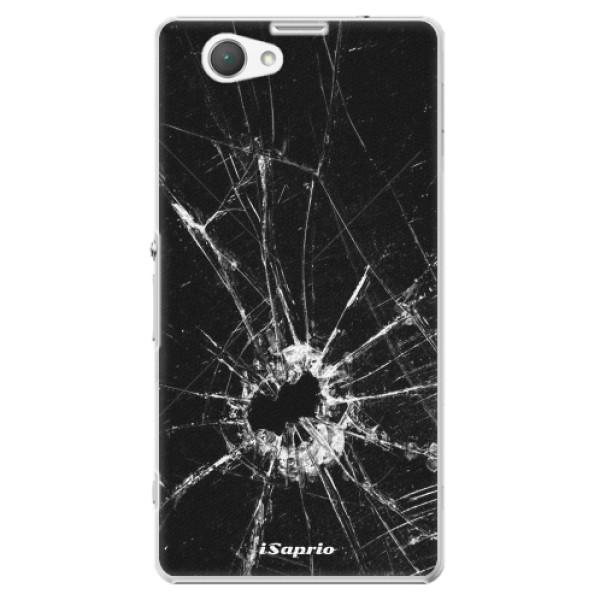 Plastové pouzdro iSaprio - Broken Glass 10 - Sony Xperia Z1 Compact