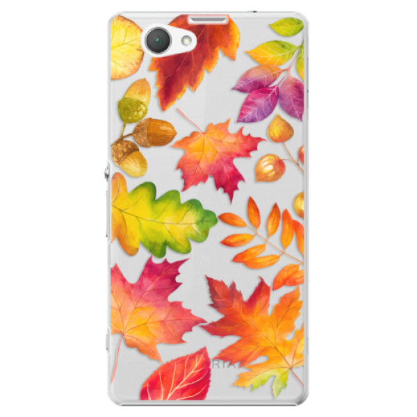 Plastové pouzdro iSaprio - Autumn Leaves 01 - Sony Xperia Z1 Compact