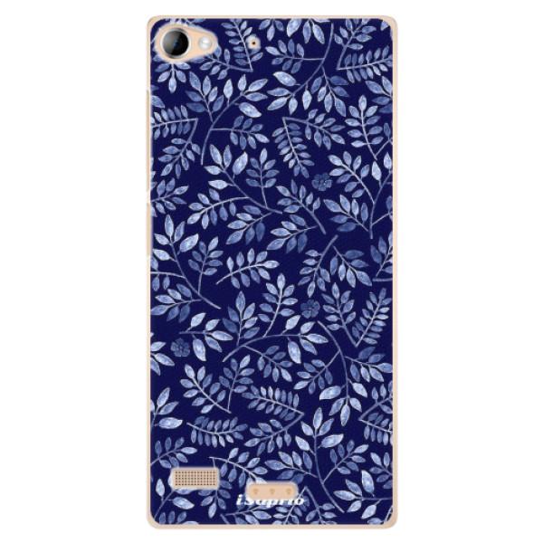 Plastové pouzdro iSaprio - Blue Leaves 05 - Sony Xperia Z2