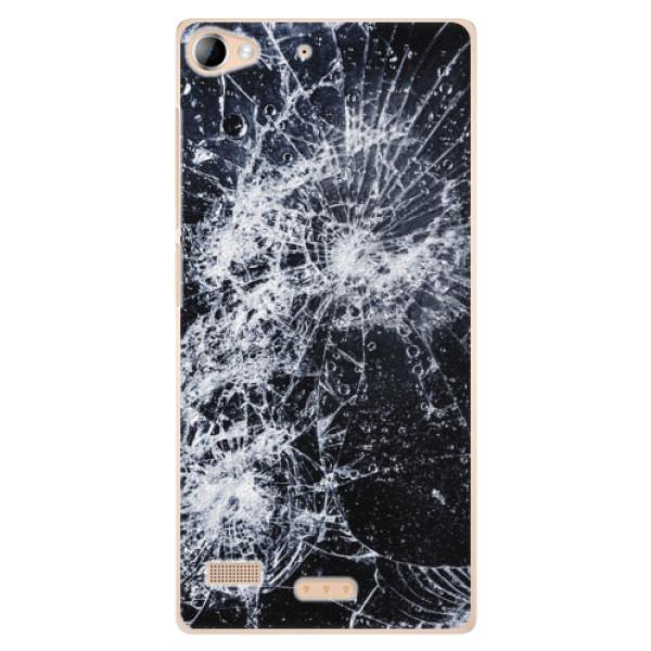 Plastové pouzdro iSaprio - Cracked - Sony Xperia Z2