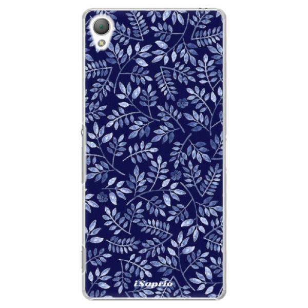 Plastové pouzdro iSaprio - Blue Leaves 05 - Sony Xperia Z3