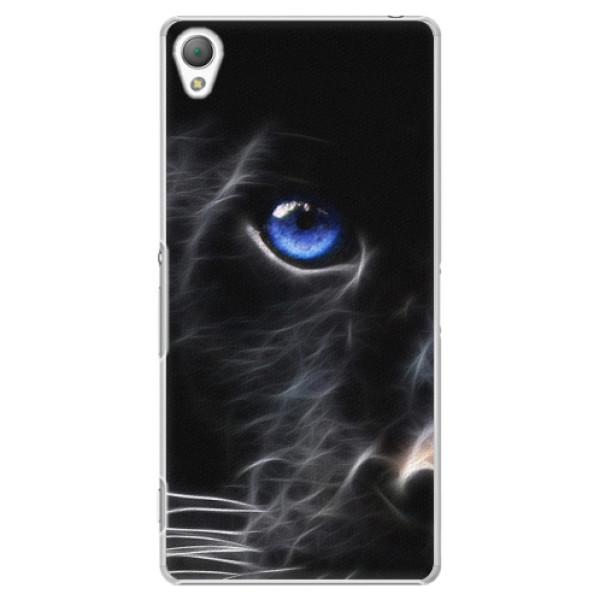 Plastové pouzdro iSaprio - Black Puma - Sony Xperia Z3