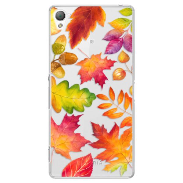 Plastové pouzdro iSaprio - Autumn Leaves 01 - Sony Xperia Z3