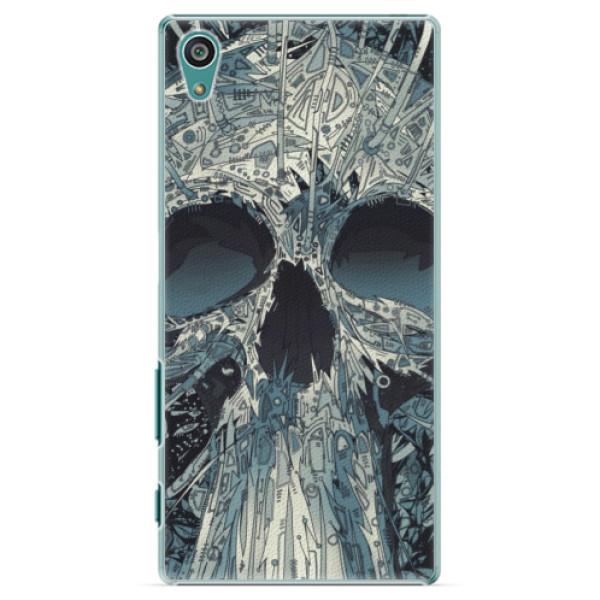 Plastové pouzdro iSaprio - Abstract Skull - Sony Xperia Z5