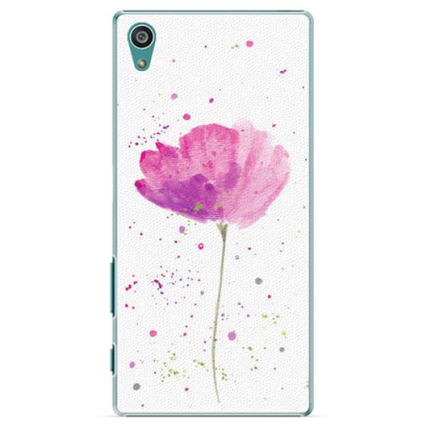 Plastové pouzdro iSaprio - Poppies - Sony Xperia Z5