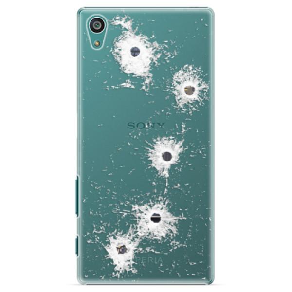 Plastové pouzdro iSaprio - Gunshots - Sony Xperia Z5